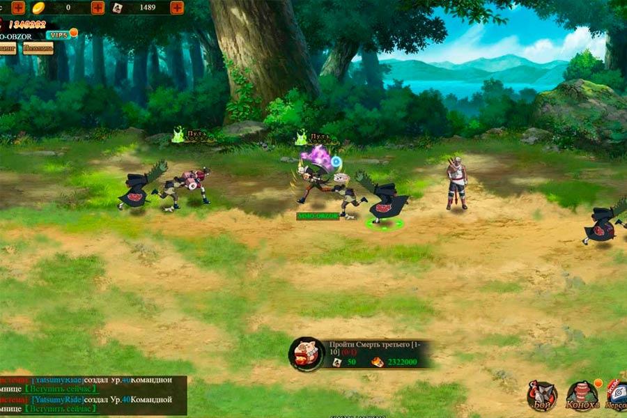 Наруто: наследники силы игра